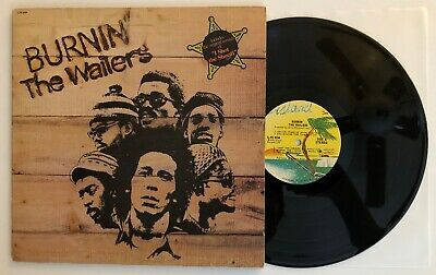 Bob Marley & The Wailers - Burnin' - 1973 US 1st Press ILPS-9256 (VG+)