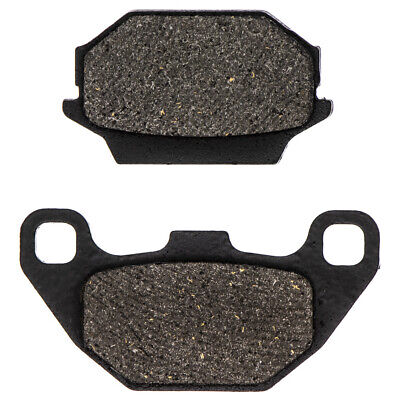 NICHE Brake Pad Set Kawasaki 43082-Y001 Arctic Cat 3304-567 Rear Semi-Metallic