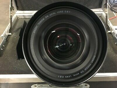 Sanyo LNS-W03(L7A45083) Projector Short Throw On Axial Lens 0.8:1*USED WORKS* #2