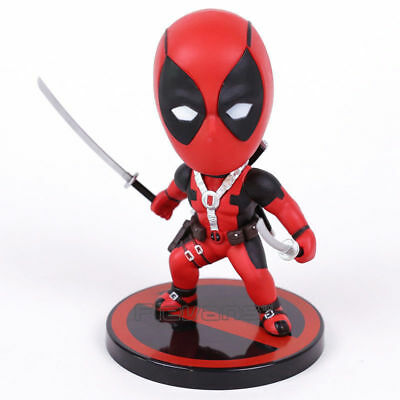 "Hot Toys Deadpool 2 Bobble-Head Cosbaby 4/"" figure Bullet Deflecting COSB507 NEW"