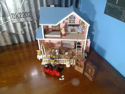 Maple Town Figures Furniture Vehicles Playset 1986 Tonka Calico Critters CHOICE