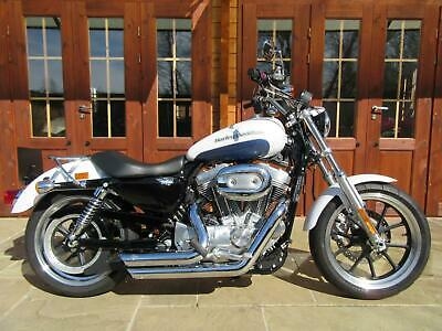 2015/15 Harley-Davidson XL883 Sportster Superlow ABS - ONLY 1200 MILES, 1 OWNER
