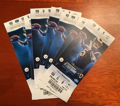 Pittsburgh Steelers Ticket Stub Ben Roethlisberger Passes Terry Bradshaw 9/27/15