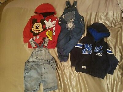 Boys Next/ George/ Clothes Bundle Size/ 18-24 Month's/ 1-1/2 Years