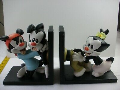 Animaniacs Warner Brothers Studio Store bookends SAMPLES never made WBSS 1990s