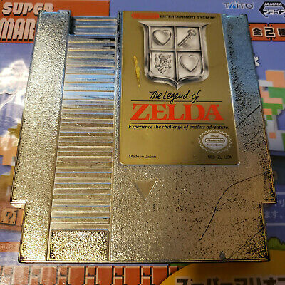 The Legend Of Zelda Nes (Nintendo) Game.