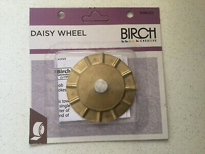 Birch Daisy Wheel - For Making Yarn Daisys To complete Blankets And Shawls-