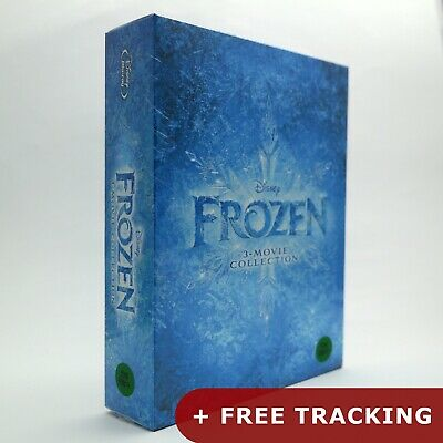 Frozen 3-Movie Collection .Blu-ray / I + II + Olaf's Frozen Adventure 1 2