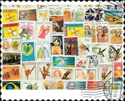 Brazil Mint : 100 Different Stamps Collection
