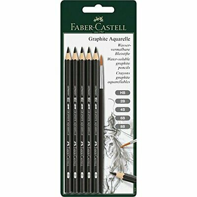Faber-Castell Watersoluble Graphite Pencils, Pack of 1