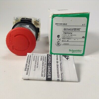 Schneider Electric 9001KR16H2 Emergency stop push-button Harmony 9001K New NFP