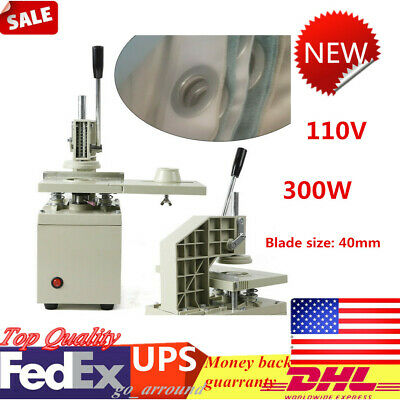 40mm Electric Curtain Eyelet Hole Punch Press Machine Curtain Punch 110V  300W