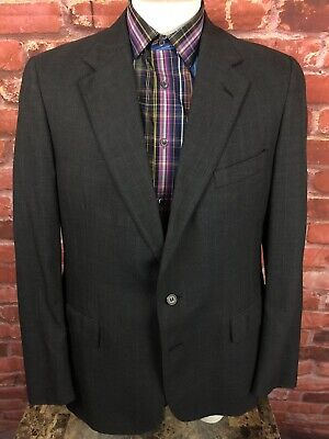 Polo University Club USA Ralph Lauren Suit Jacket Blazer Sport Coat 38R (R1)