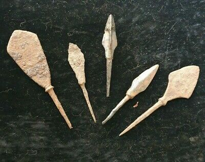 Nice iron spear-tips. 9th-13th century AD.1