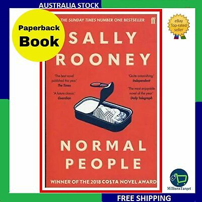 New Normal People by Sally Rooney (Paperback) Free shipping