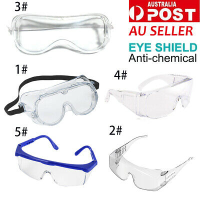 Transparent Safety Goggles Eye Protection Glasses for Industrial Laboratory Work