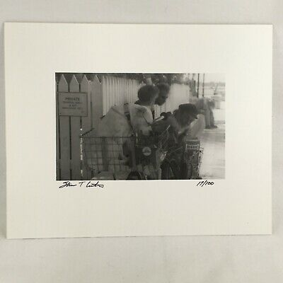 hand-signed photo by Craig Morey Black /& White Fine Art Nude Christine 21007