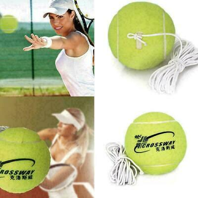 Elastic Rope Tennis Training Tool Exercise Rebound R9Y6 Ball Trainer-Back- U8A1
