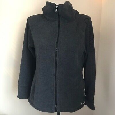 Calvin Klein Performance Jacket Womens Full Zip Size Small? S? Gray Coat