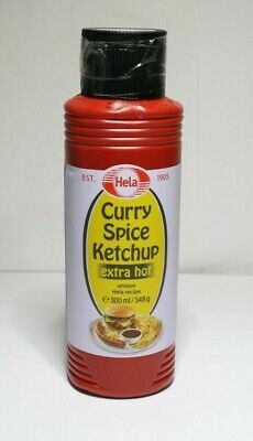 Hela Curry Spice Ketchup Extra Hot 300ml PR500 010