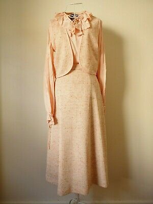 "Ladies Size 12 ""Cherade"" Vintage Going Away Outfit. Great Condition. Bargain."