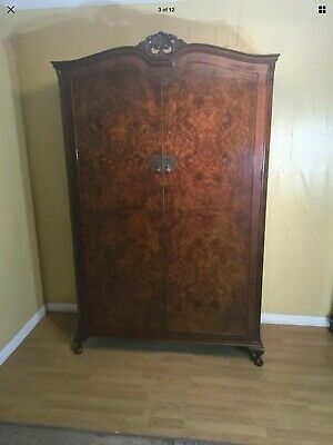Wardrobe Burr Walnut  1930's