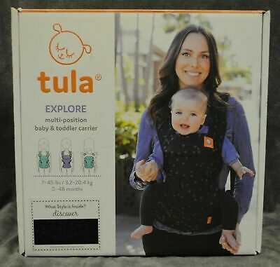Tula Explore ~ Multi Position Baby Carrier ~ 7-45# ~ 0-48 Mo~ New~ Free Shipping