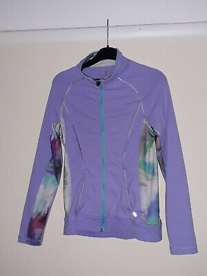 Girls Lilac Mix Sports Jacket. Bodycon. Age 12.Jill Yoga Clothing.