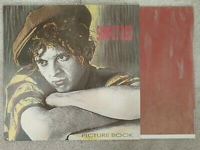 "Simply Red. Picture Book. 12"" Vinyl Lp 1985 Near Mint. Mick Hucknall"