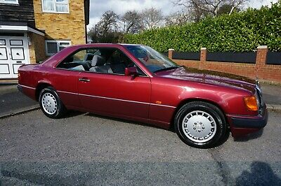 Mercedes-Benz 230CE W124 Coupe, One owner 27 yrs! Auto, Almandine Red, Beautiful