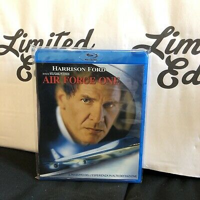 AIR FORCE ONE -blu ray-film di Wolfgang Petersen con Harrison Ford-1° STAMPA