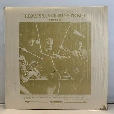 "The Beatles Renaissance Minstrels Volumen III 12"" Vinilo White Label VG+"