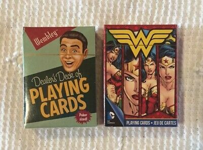 JUSTICE LEAGUE OF AMERICA RETRO 52 CARDS NEW PLAYING CARD DECK 52301