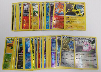2012 Pokemon Black and White BW Trading Card Lot of 42 Holo + Reverse