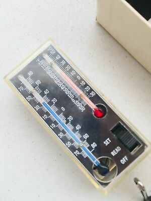 Vintage Rainwise WIND CHILL GAUGE METER with Instructions in Original Retail Box