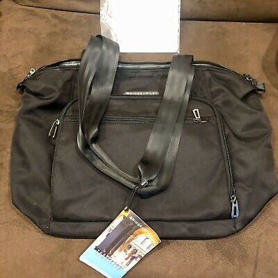 Briggs & Riley Baseline Large Shopping Tote Bag Black New With Tags $125