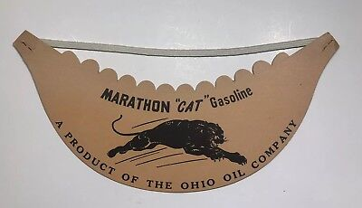 Marathon Oil Company Visor New Old Stock Authentic SHIPS FREE IN USA