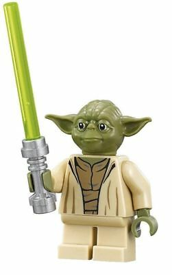 Lego Star Wars Minifigure YODA WITH LIGHTSABER New