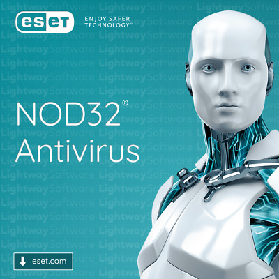 ESET NOD32 Antivirus 2020 - 1 to 3 years for 1 to 5 devices (License key)