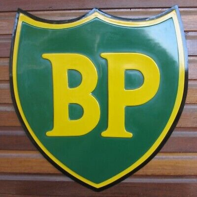 Petrol signs bp, British Petroleum, collectable sign, one of a kind