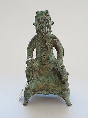 Antique Chinese Bronze Figure Of Guandi 19Th Century Or Earlier ----- No Reserve