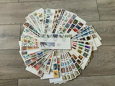 Job Lot 50 Assorted Christmas First Day Covers FDC Addressed (Lot #1)