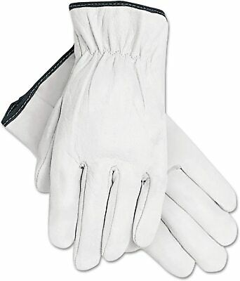 Heavy Duty Premium Cowhide Leather Work Safety Gloves PPE S/M/L/XL 1or12 Pairs