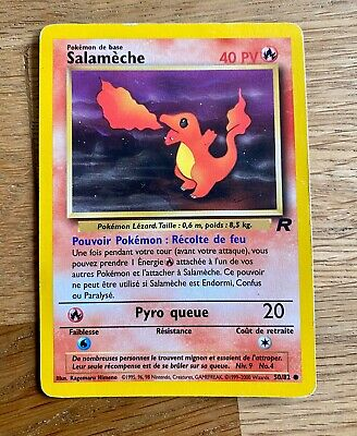 Carte Pokemon SALAMECHE 50//82 Commune Team Rocket EDITION 1 FR NEUF