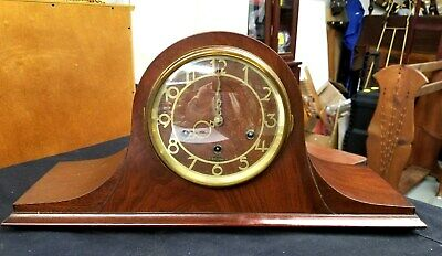 Antique 8 Day Seth Thomas Westminster Chime Mantel Clock Great Condition