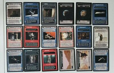 SEALED! Star Wars CCG Official Tournament Sealed Deck Exclusive Set Of 18 Cards