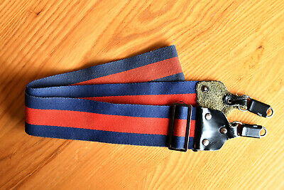 Vintage Universal Adjustable neck strap for a SLR or DSLR Camera Red
