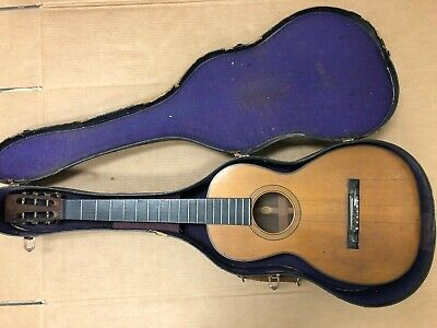 Antique C. BRUNO NEW YORK Acoustic Parlor Guitar Rosewood, no reserve