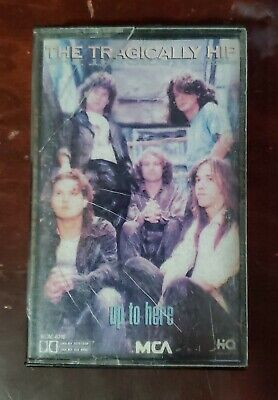 Up to Here by The Tragically Hip (Cassette, Sep-1989, MCA)