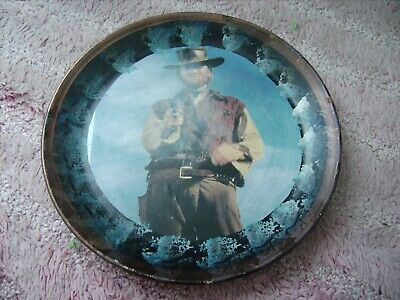Clint Eastwood    On A Decoupage  Plate